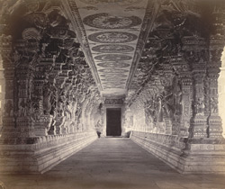 Ramisseram [Rameswaram] Pagoda, Island of Paumben. Inner half of the west entrance passage.